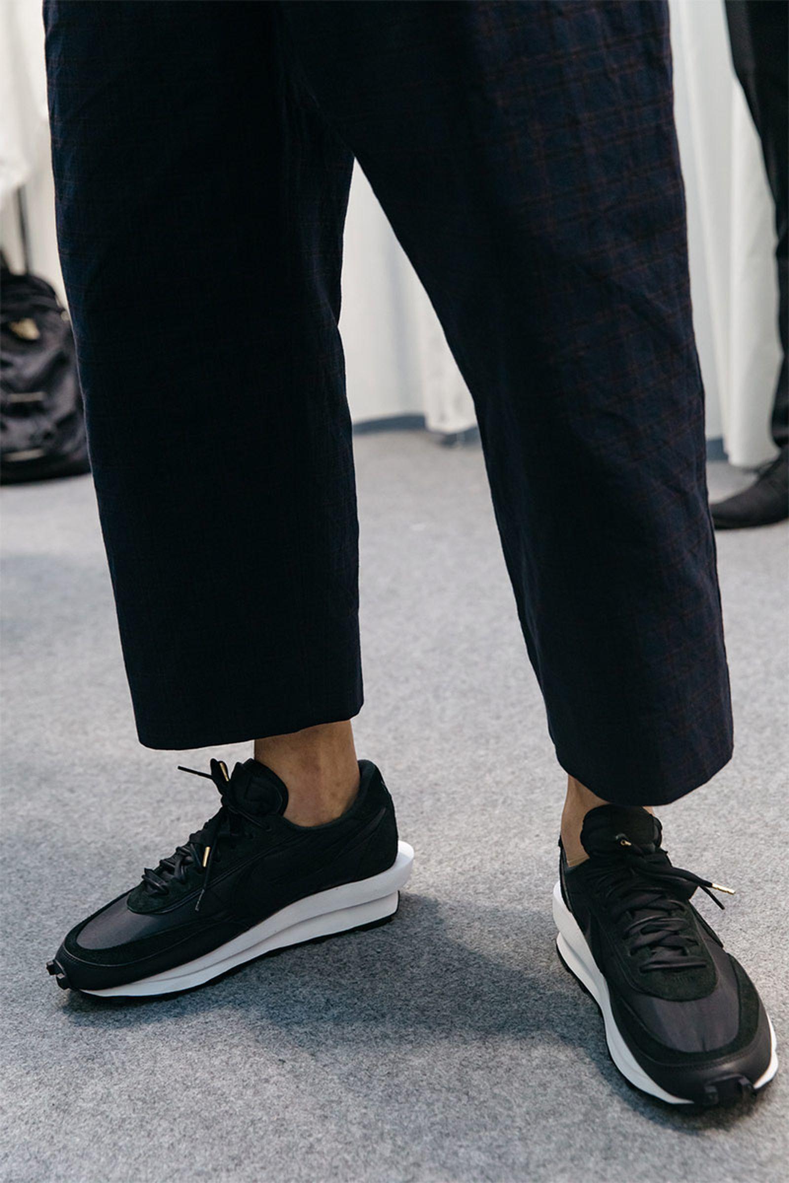 sacai ss20 menswear collection Louis Vuitton Nike OAMC