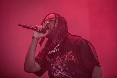 PartyNextDoor performs a live concert during the Danish music festival Roskilde Festival