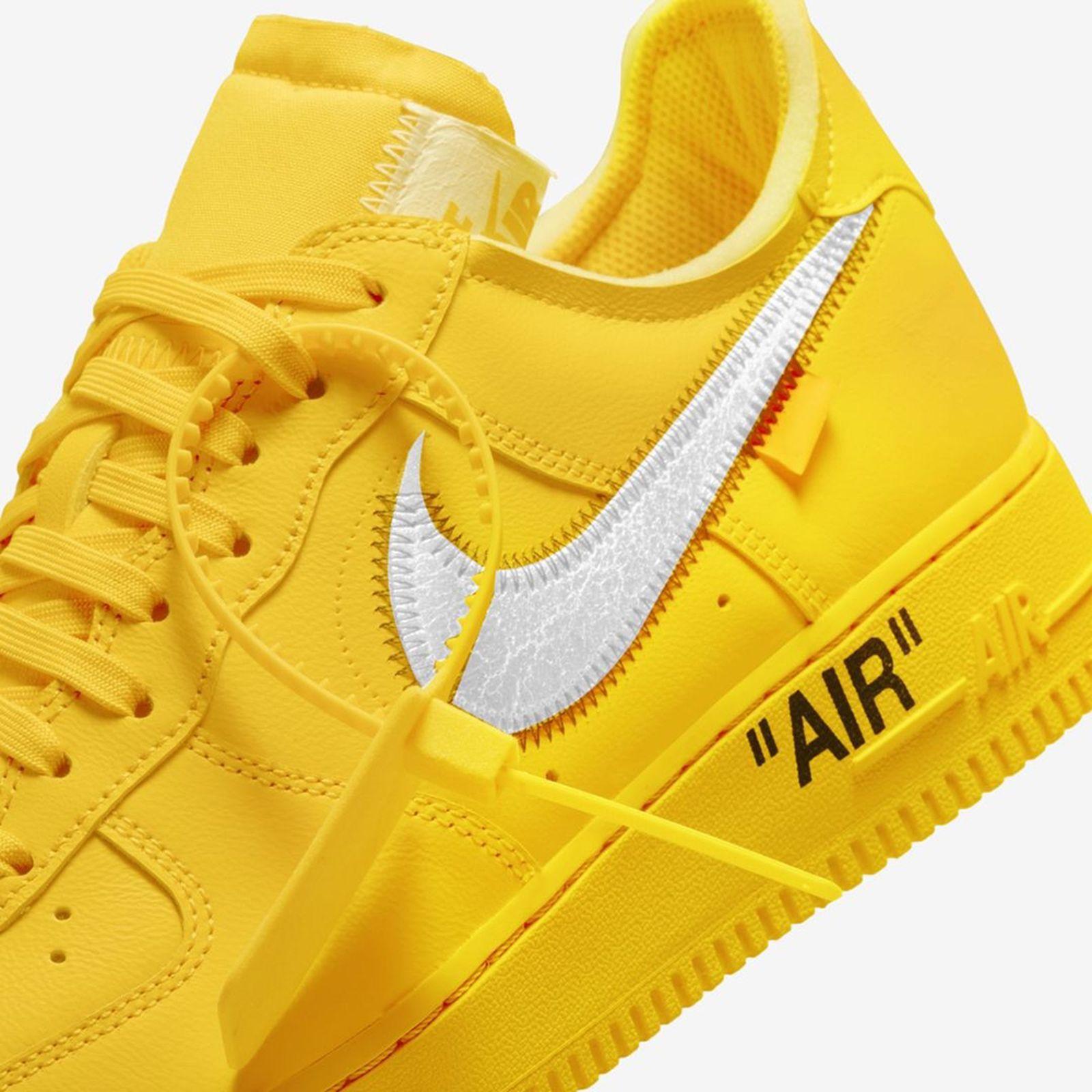 air force 1 uomo yellow