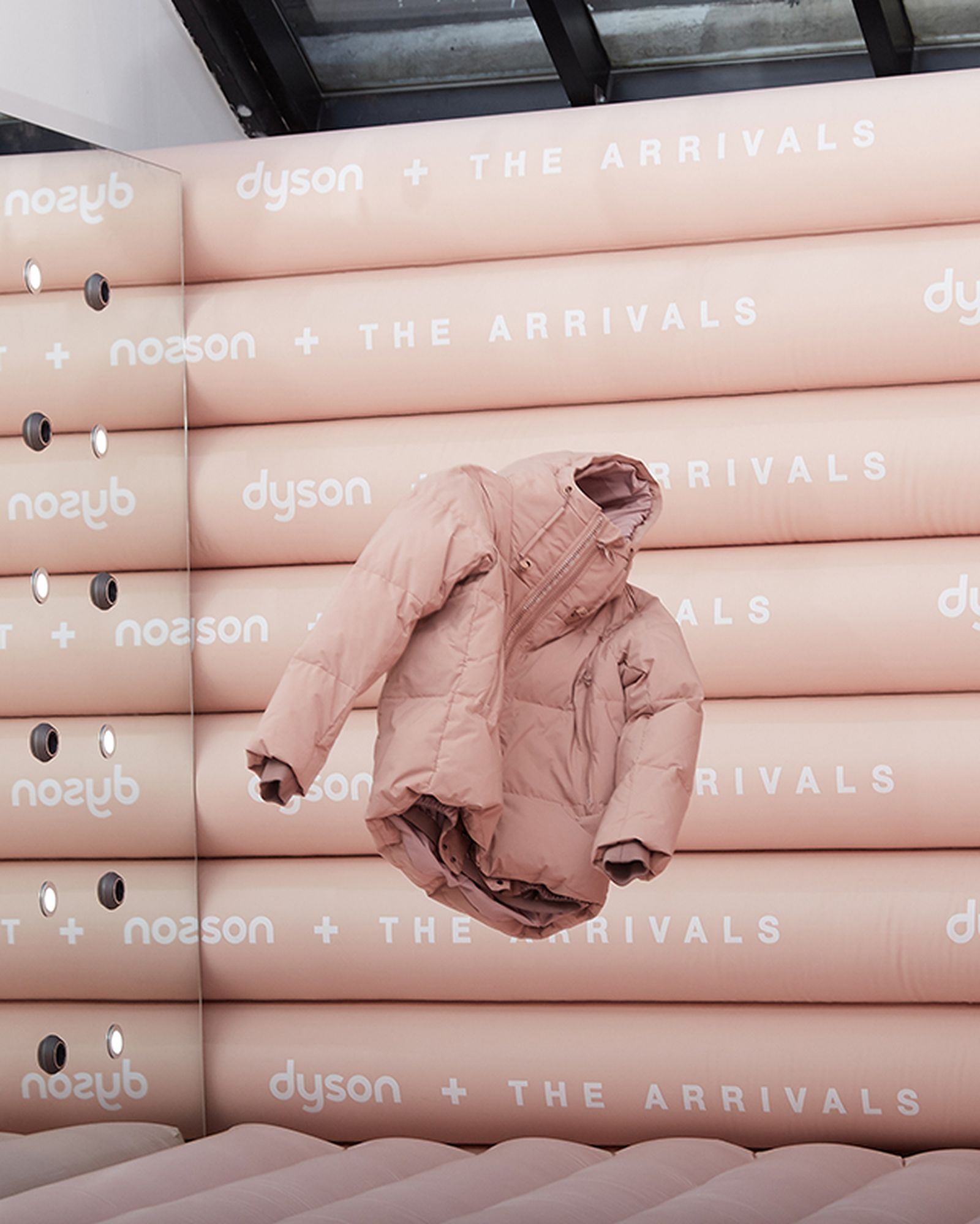 the arrivals nyc pop up 2018 Dyson