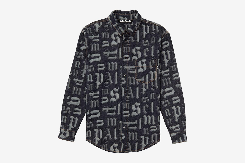 Monogram Denim Shirt