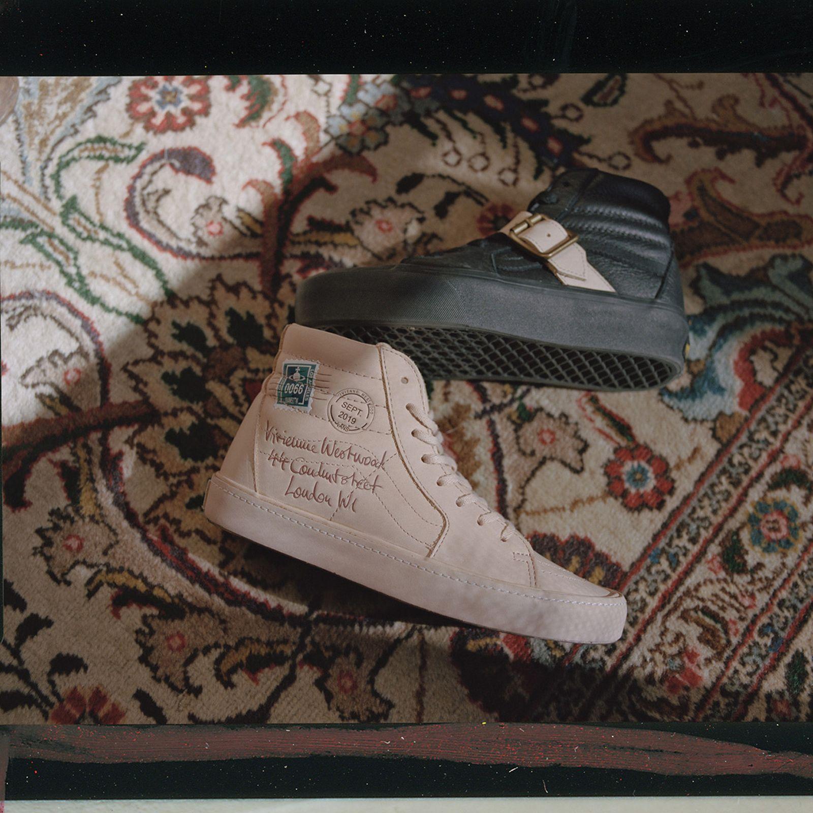 Vans Vivienne Westwood Anglomania collection Sk8-Hi
