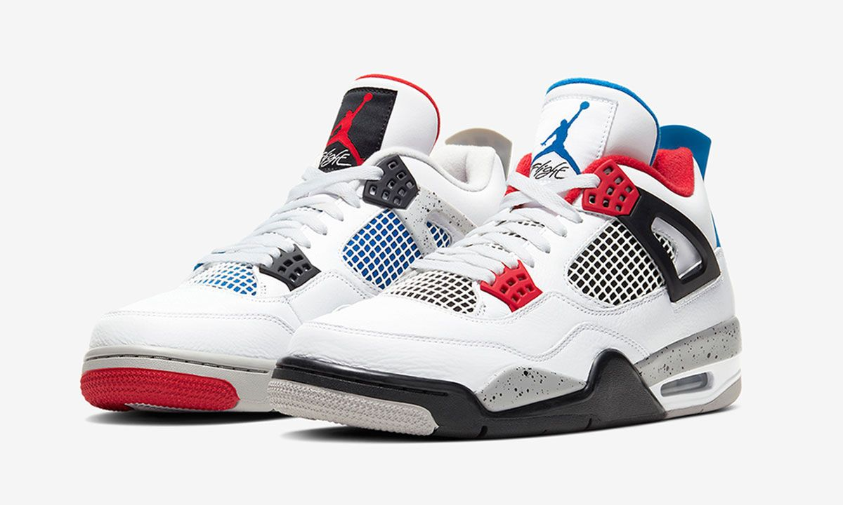 "Nike Officially Unveils Air Jordan 4 ""What The"" Release Date"