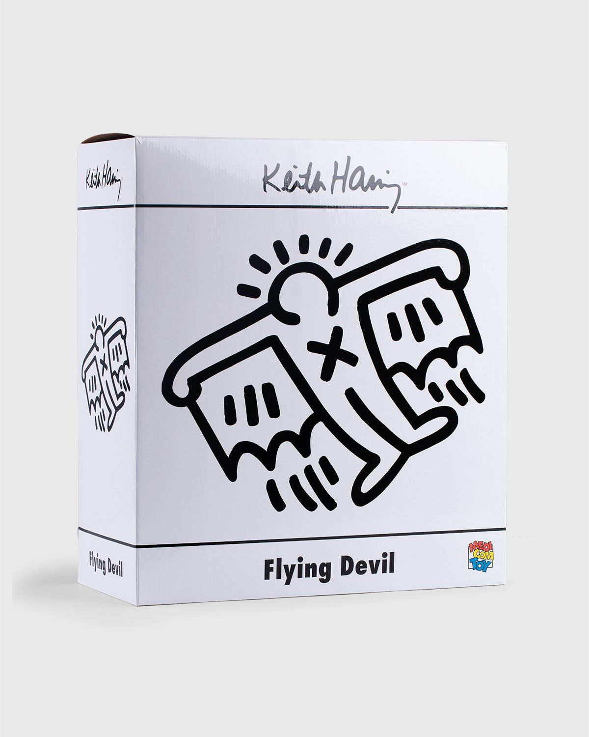 Medicom — Keith Haring Flying Devil Statue White - Image 5