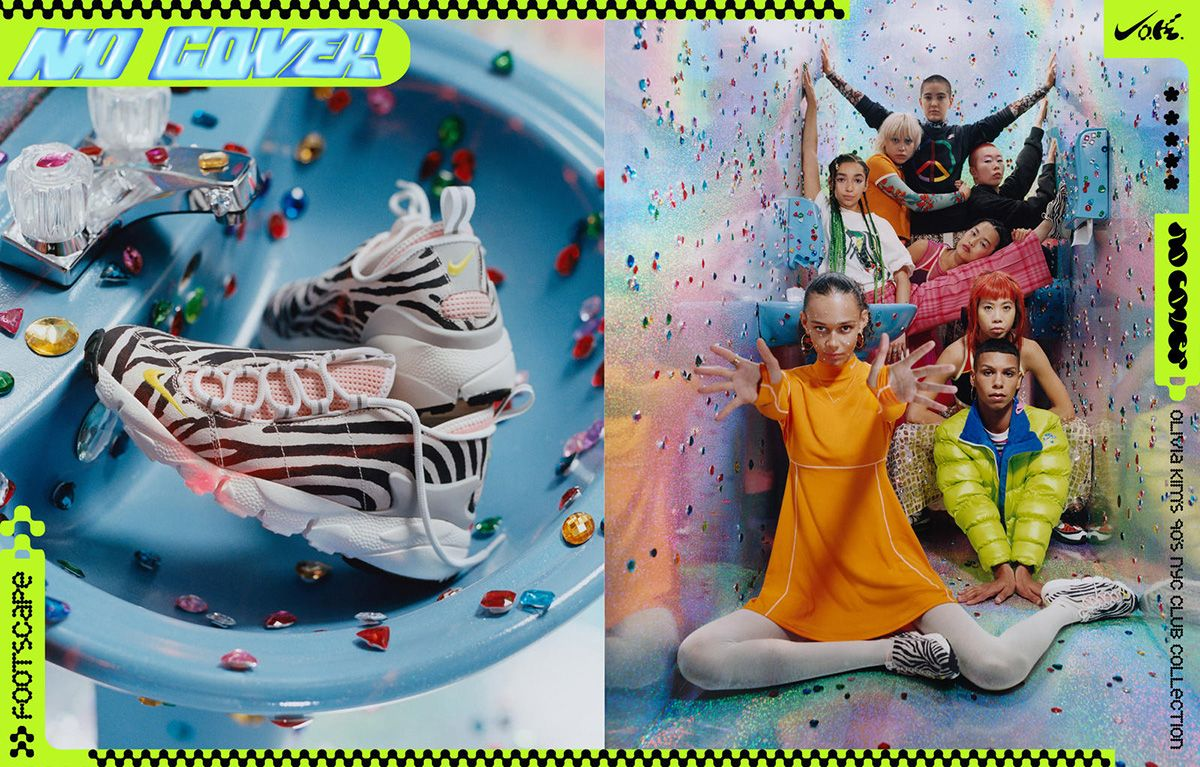 Olivia Kim's New Nike Collection Draws From '90s New York Street Fashion