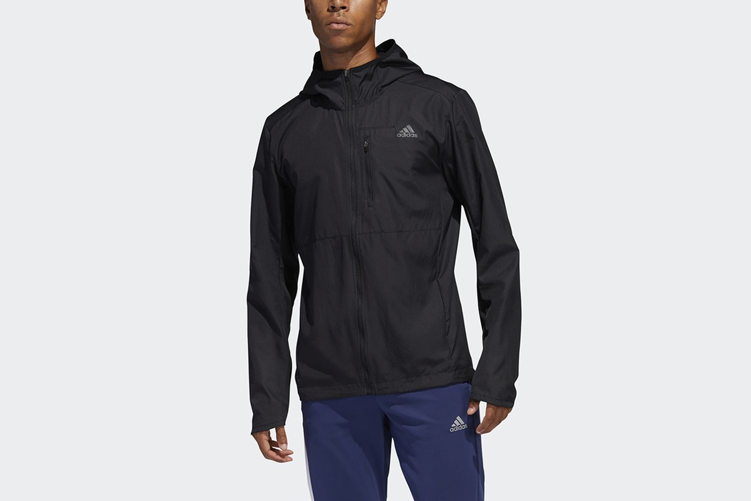 Own the Run Hooded Wind Jacket