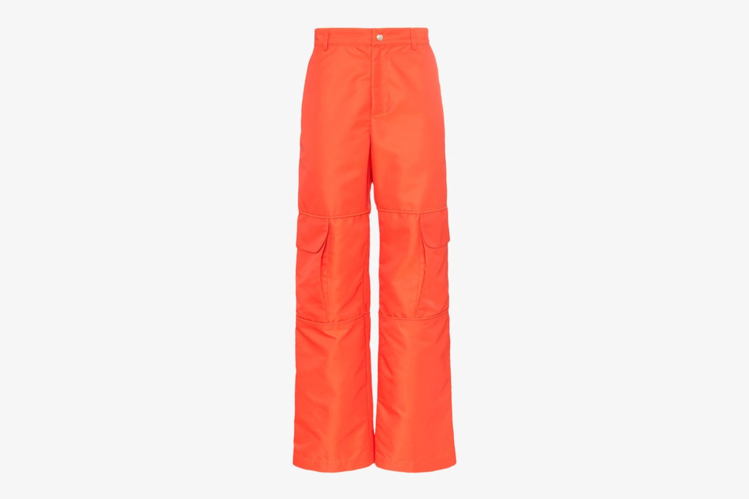 Cargo Pocket Straight Trousers