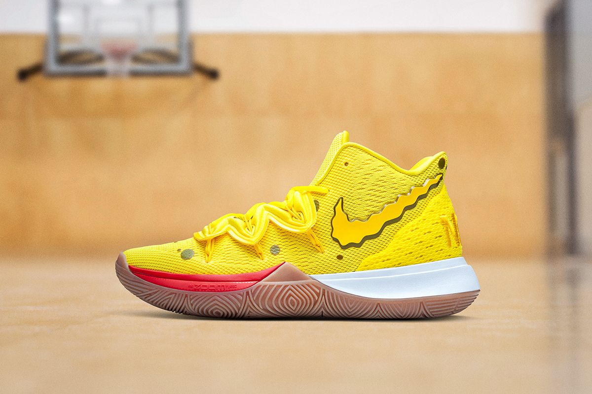 Here's Every Colorway From Nike's Kyrie 5 'SpongeBob SquarePants' Collection