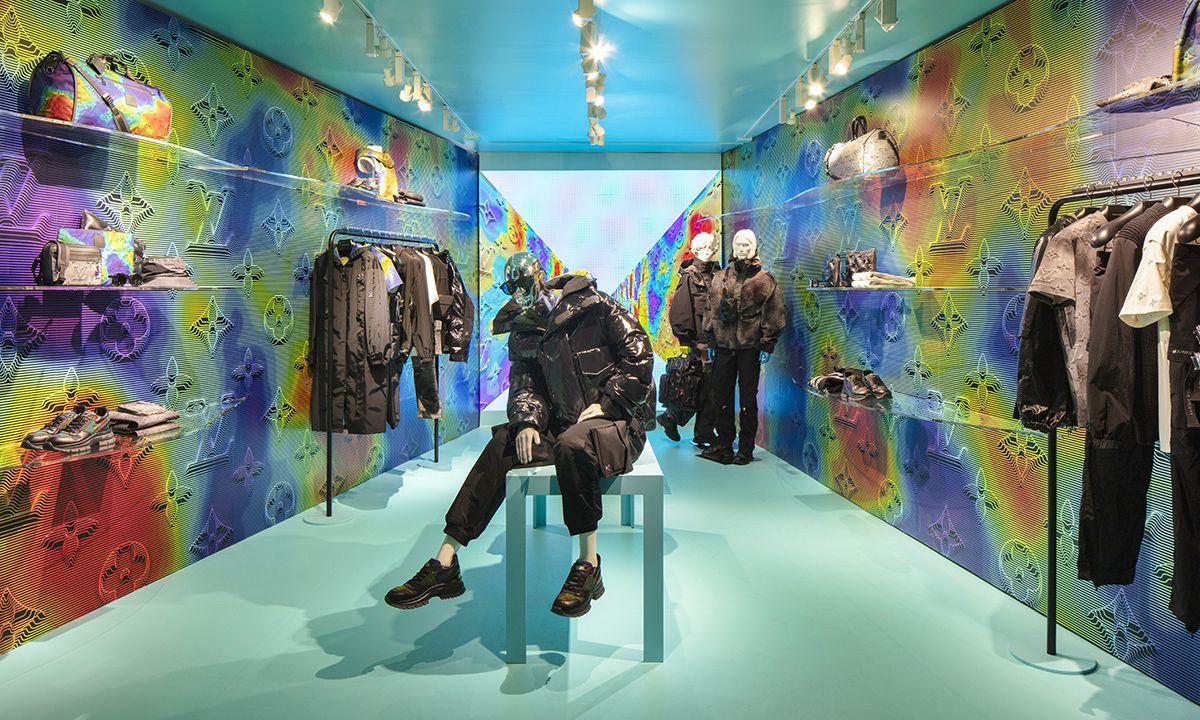 Louis Vuitton Launches Soho Pop-Up for Virgil Abloh's 2054 Collection