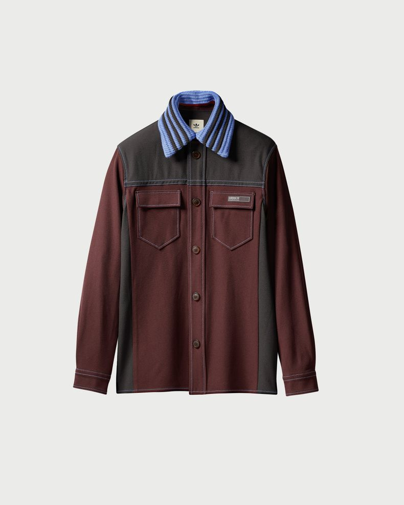 Adidas x Wales Bonner — Rock Blouson Brown