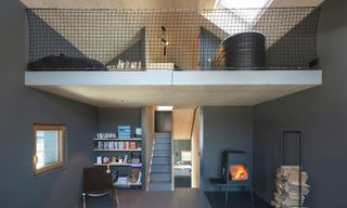 A Narrow Contemporary Cottage with Bavarian Forest Views