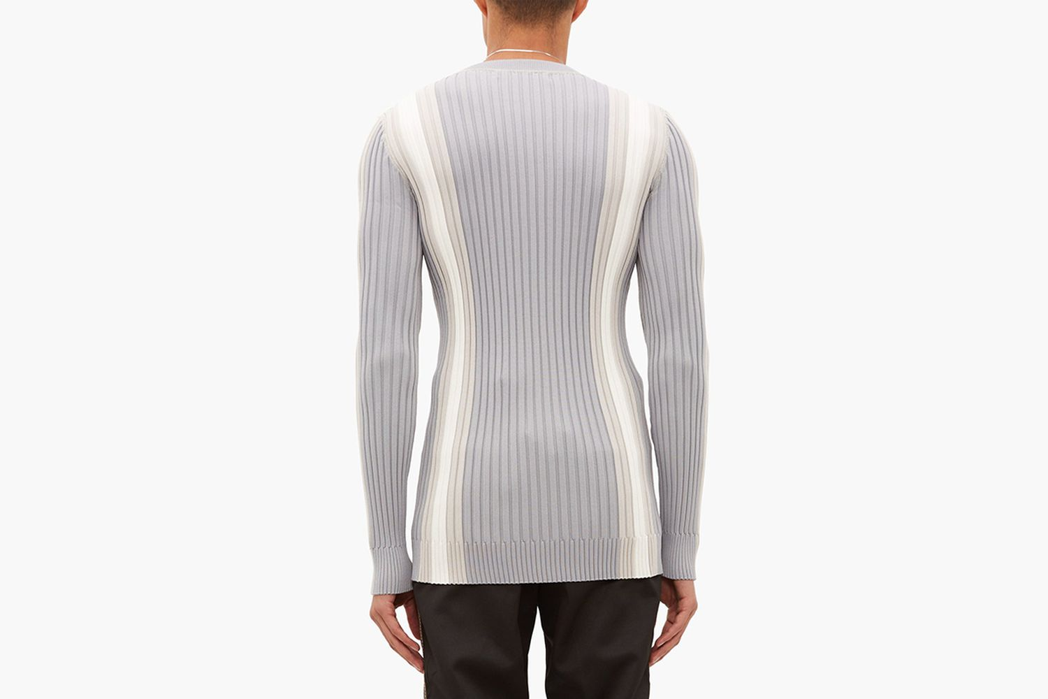 Incubus Striped Ribbed Sweater