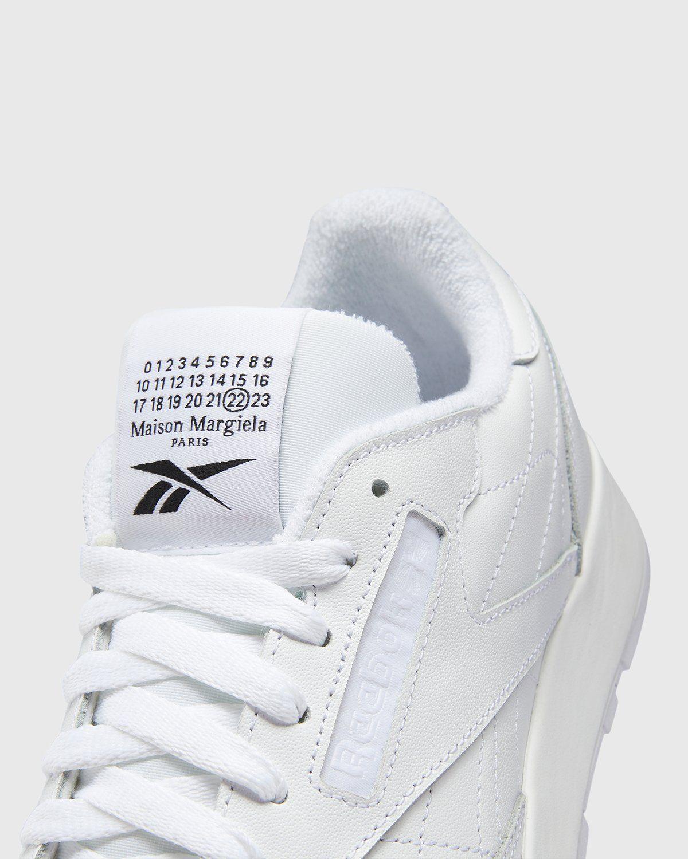 Maison Margiela x Reebok — Classic Leather Tabi White - Image 5