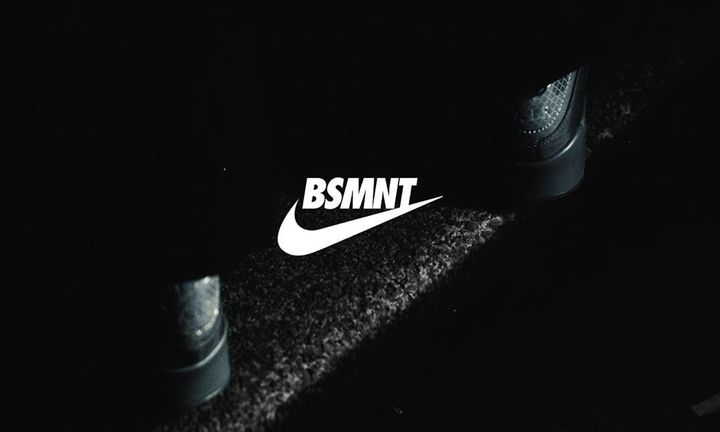 the basemnet nike air max 90 feat the basement