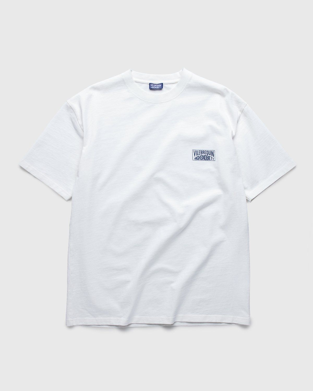 Vilebrequin x Highsnobiety — Logo T-Shirt White - Image 2