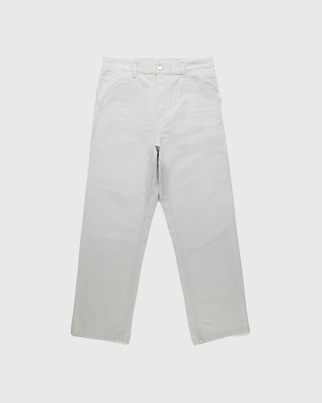 Carhartt WIP – Single Knee Pant Aged Canvas Grey - Image 1