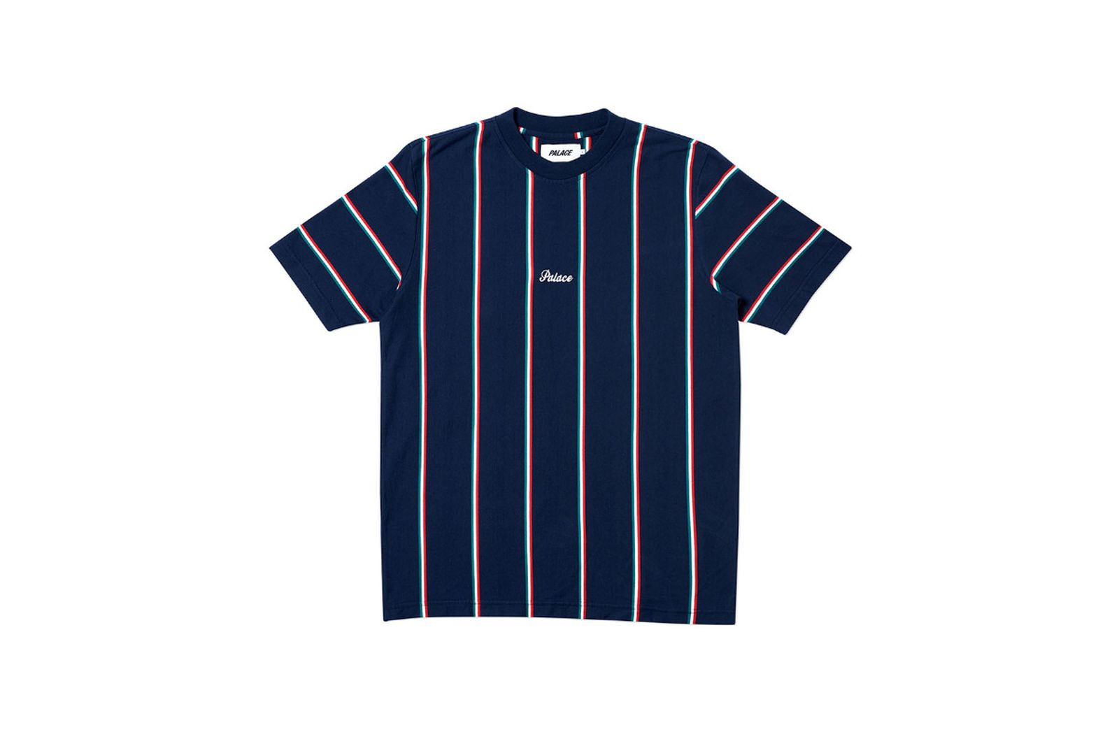 Palace 2019 Autumn T Shirt Vert navy front
