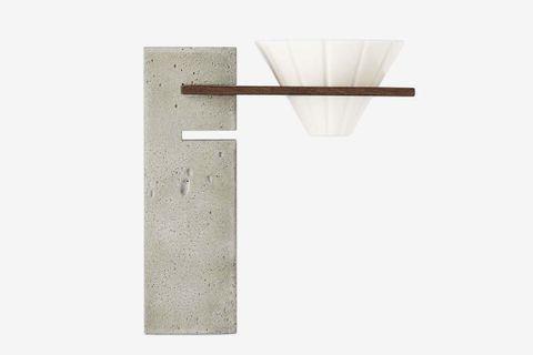 Concrete Basi Pour-Over Coffee Stand