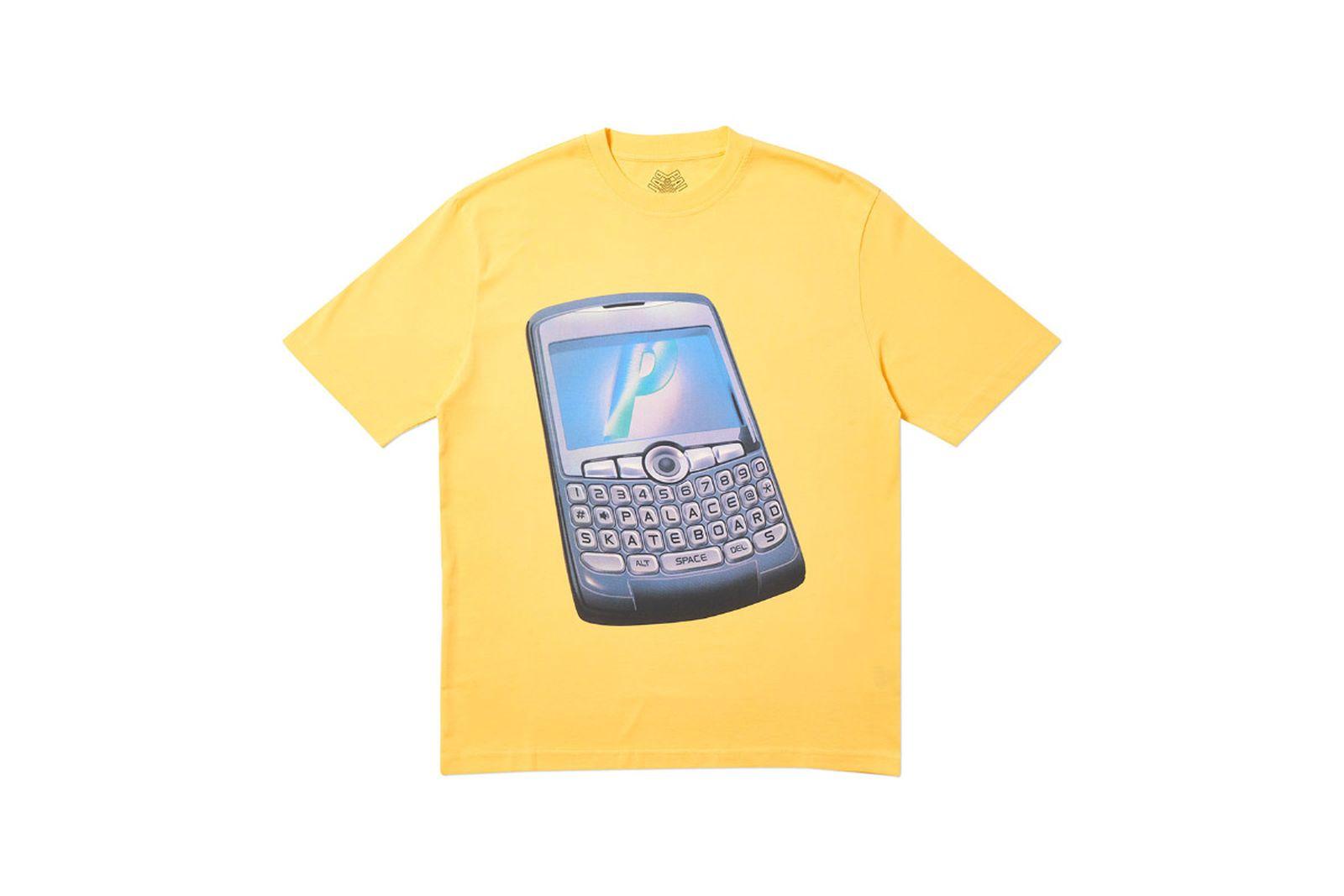 Palace 2019 Autumn T Shirt Ping yellow