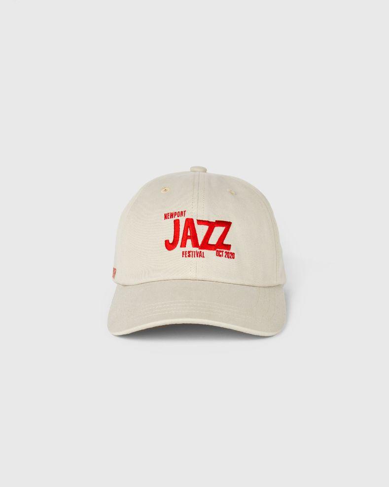 Newport Jazz Logo - Cap Beige