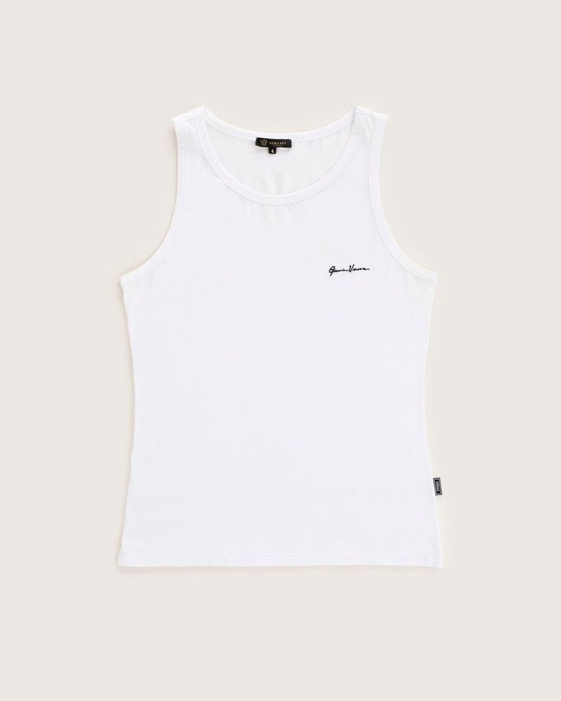 Versace —  Tank Top White