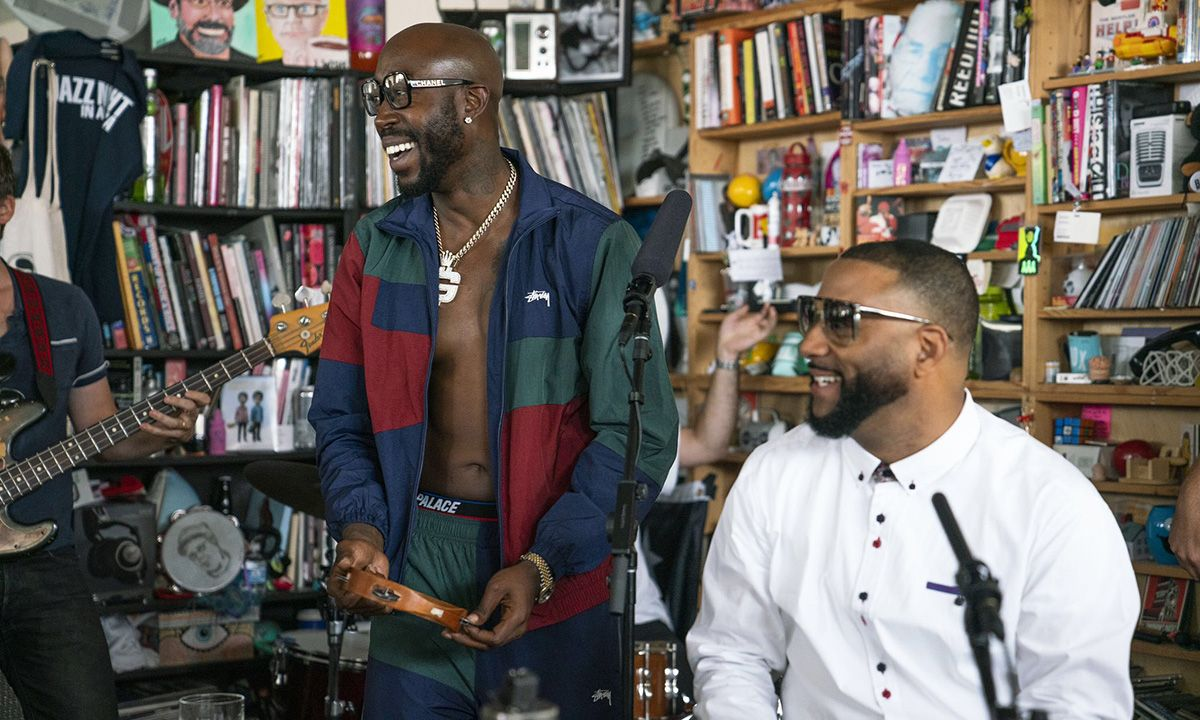 Freddie Gibbs & Madlib Perform 'Bandana' Standouts for NPR's Tiny Desk Concert