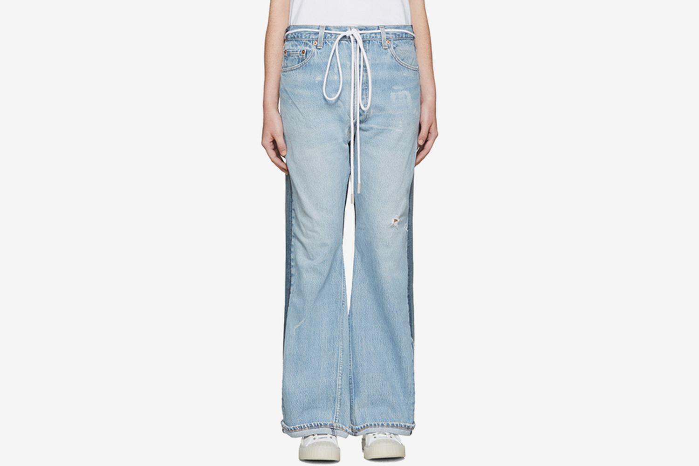 Arrow Straight Join Jeans