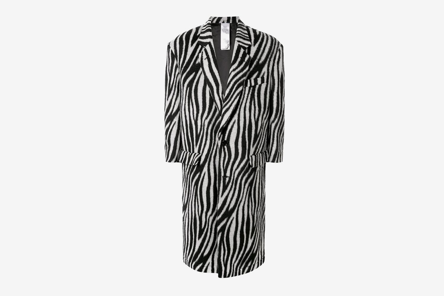 Zebra Pattern Coat