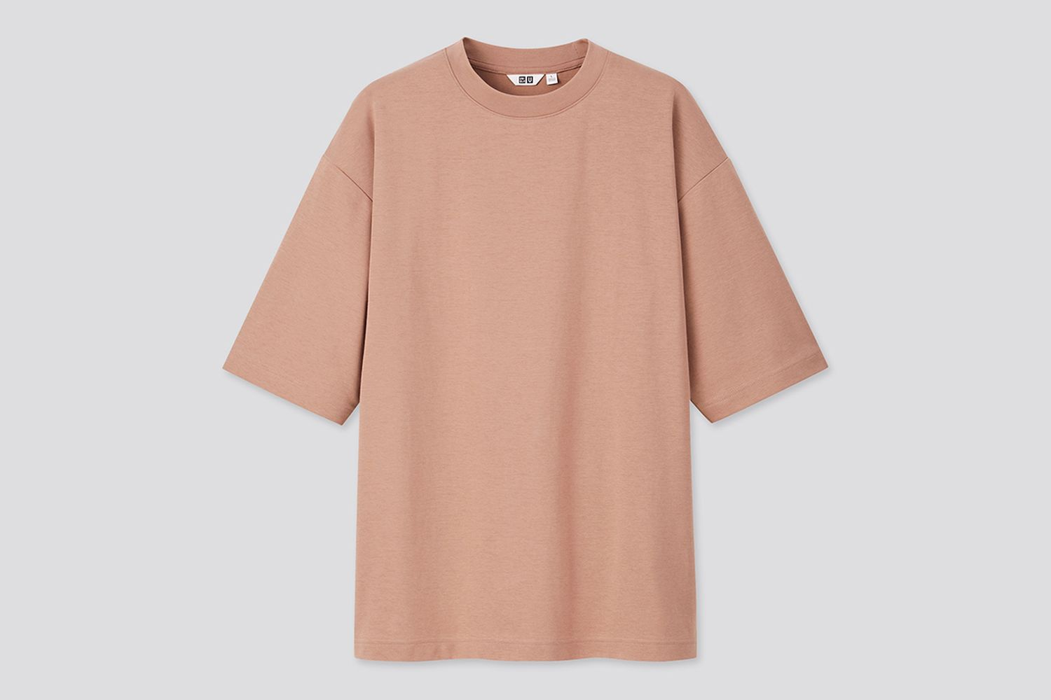 Airism Cotton Crew Neck Oversize T-Shirt