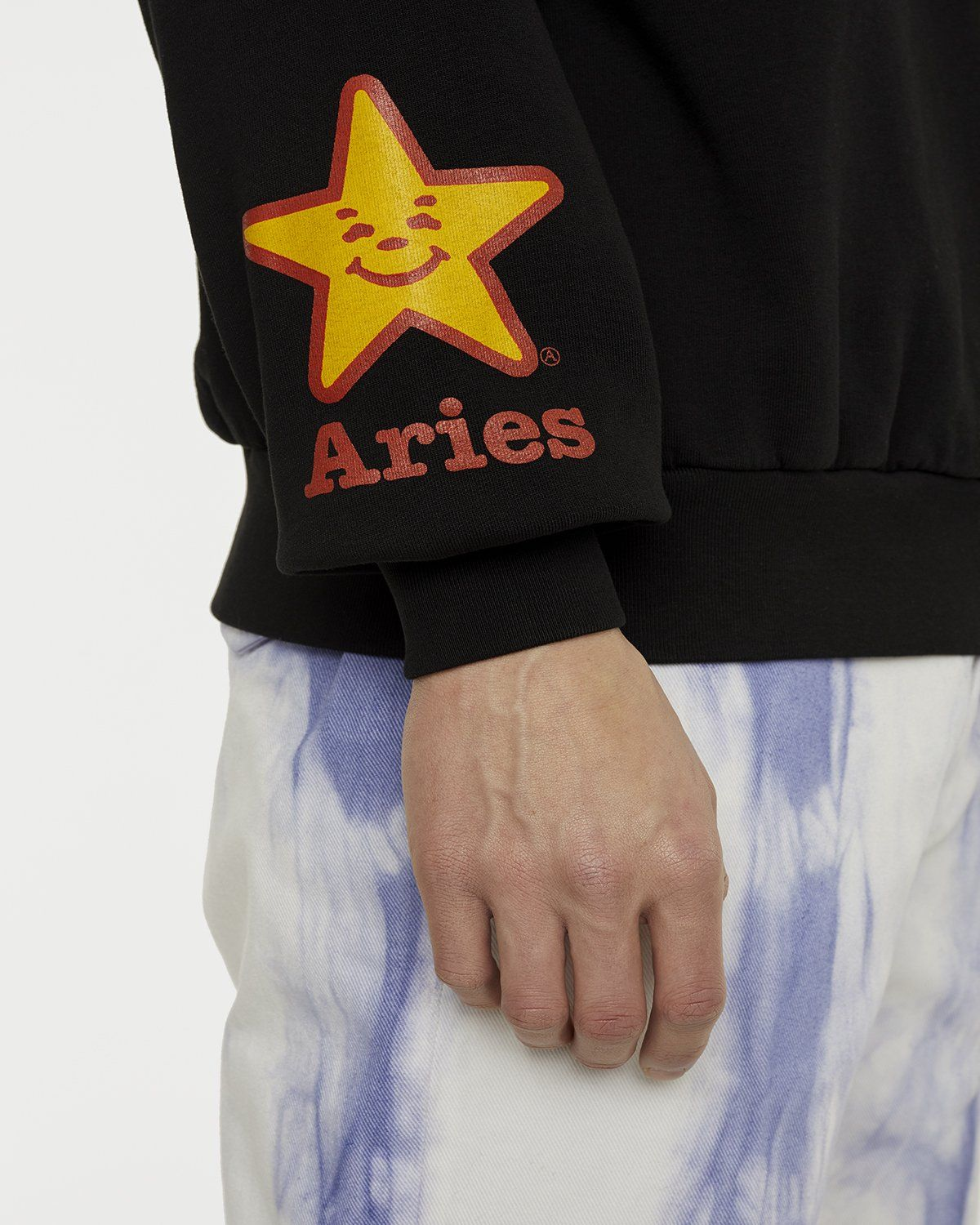 Aries - Fast Food Sweatshirt Black - Image 6