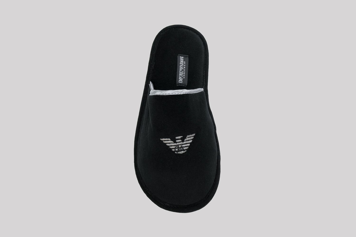 Logo Embroidered Slipper