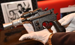 Han Solo's 'Return of the Jedi' Blaster Sells for $550k at Auction