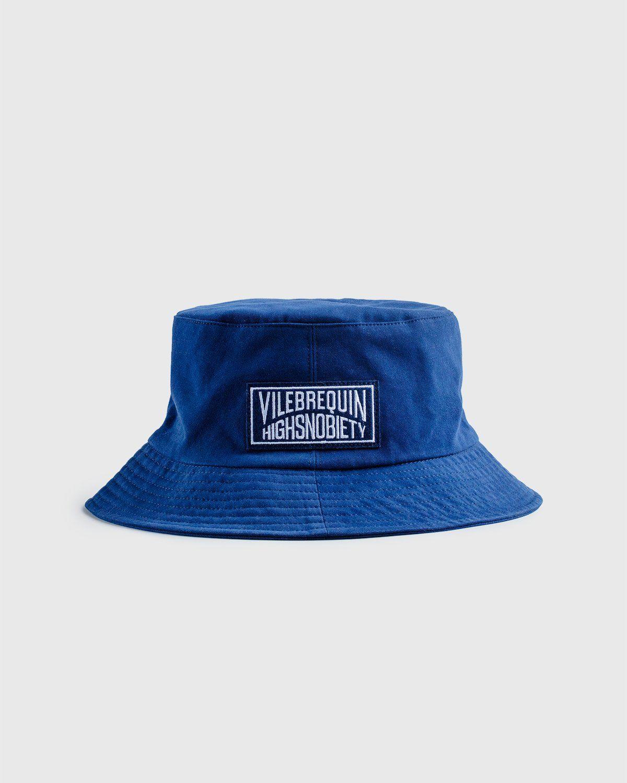 Vilebrequin x Highsnobiety — Logo Bucket Hat Navy - Image 1