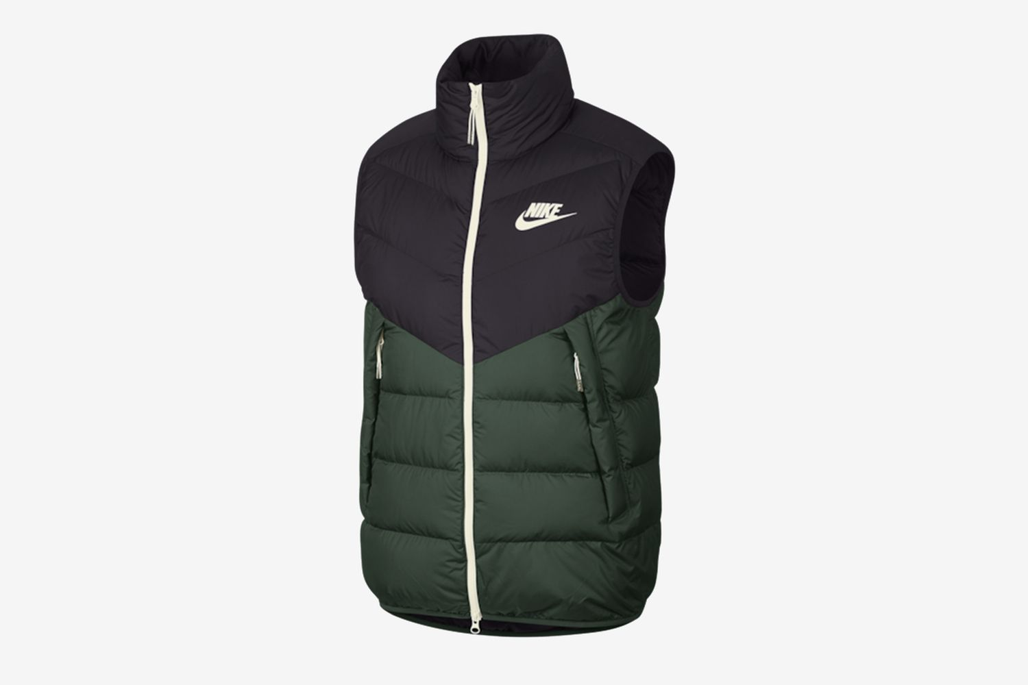 Down Fill Windrunner Vest