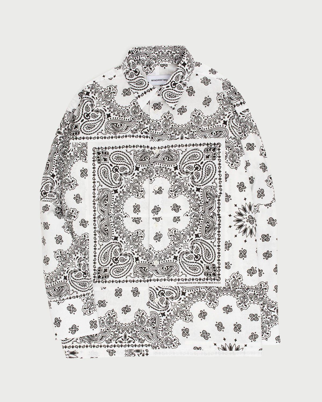 Miyagihidetaka Bandana Shirt White - Image 1