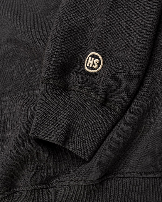 Highsnobiety – Logo Hoodie Black - Image 5