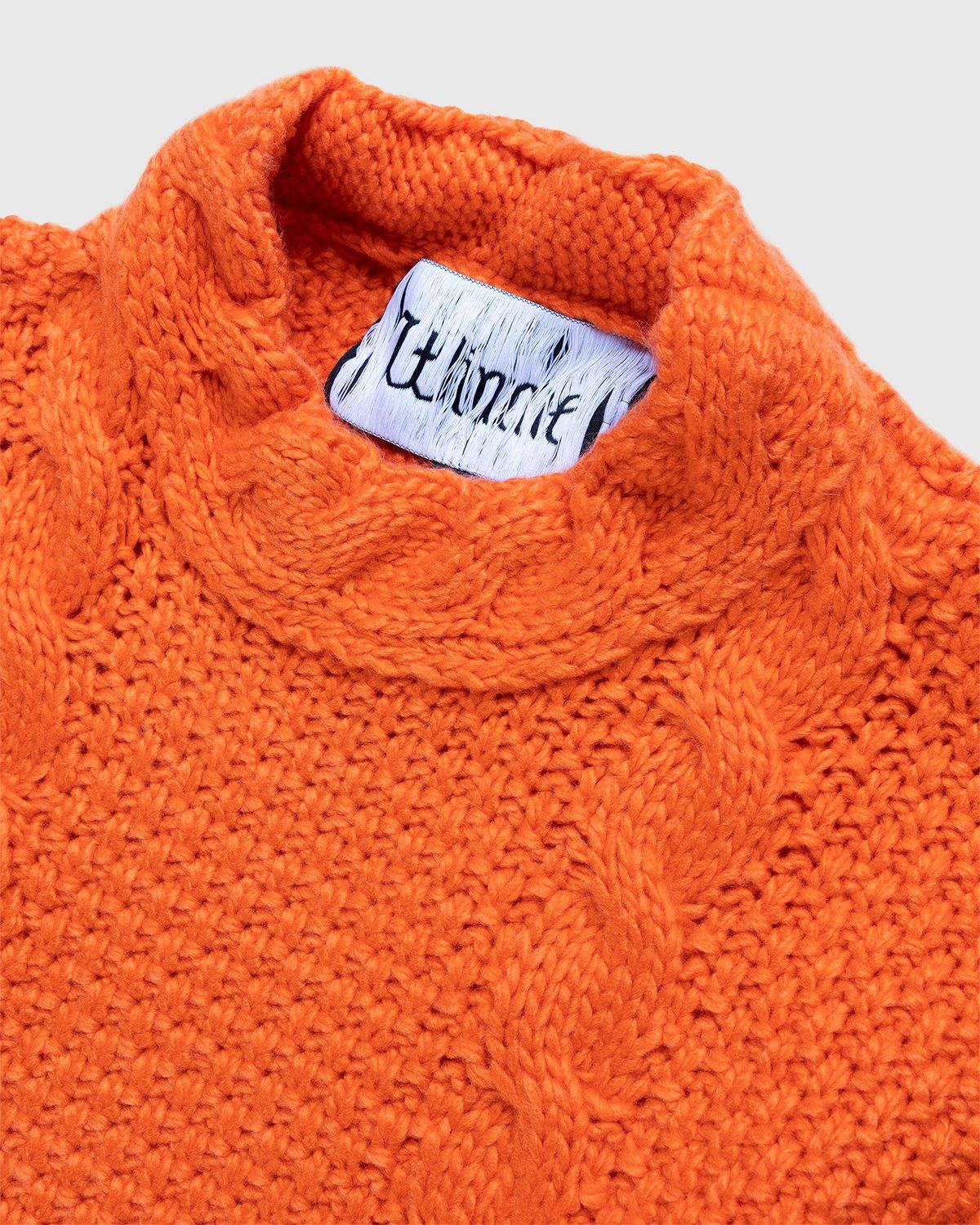 Winnie New York - Intwined Cable Knit Sweater Red - Image 3