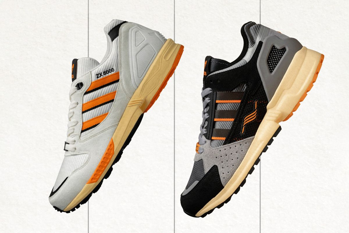 Size? Expertly Reworks Two adidas ZX Models for Its 20th Anniversary 3