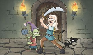 Critics Are Mixed on Matt Groening's 'Disenchantment'