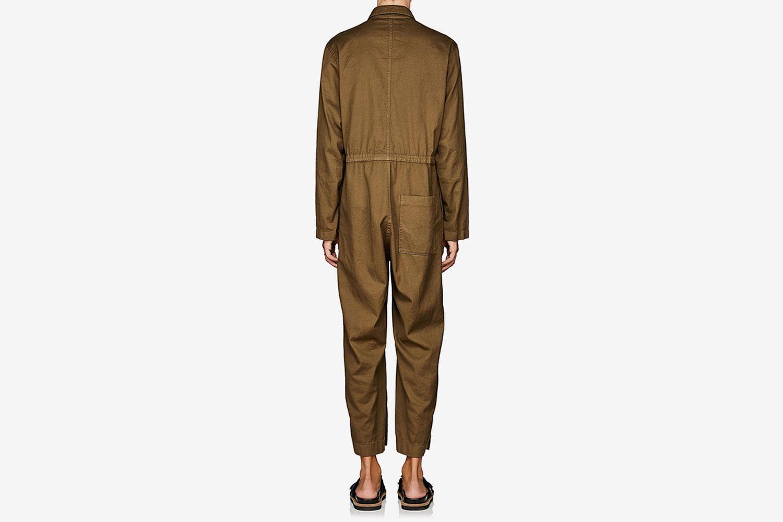 Piqué Cotton Jumpsuit