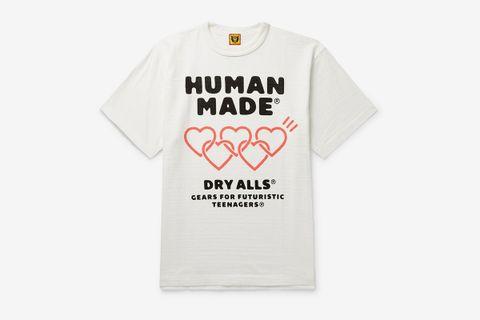 Logo-Print Slub Cotton-Jersey T-Shirt