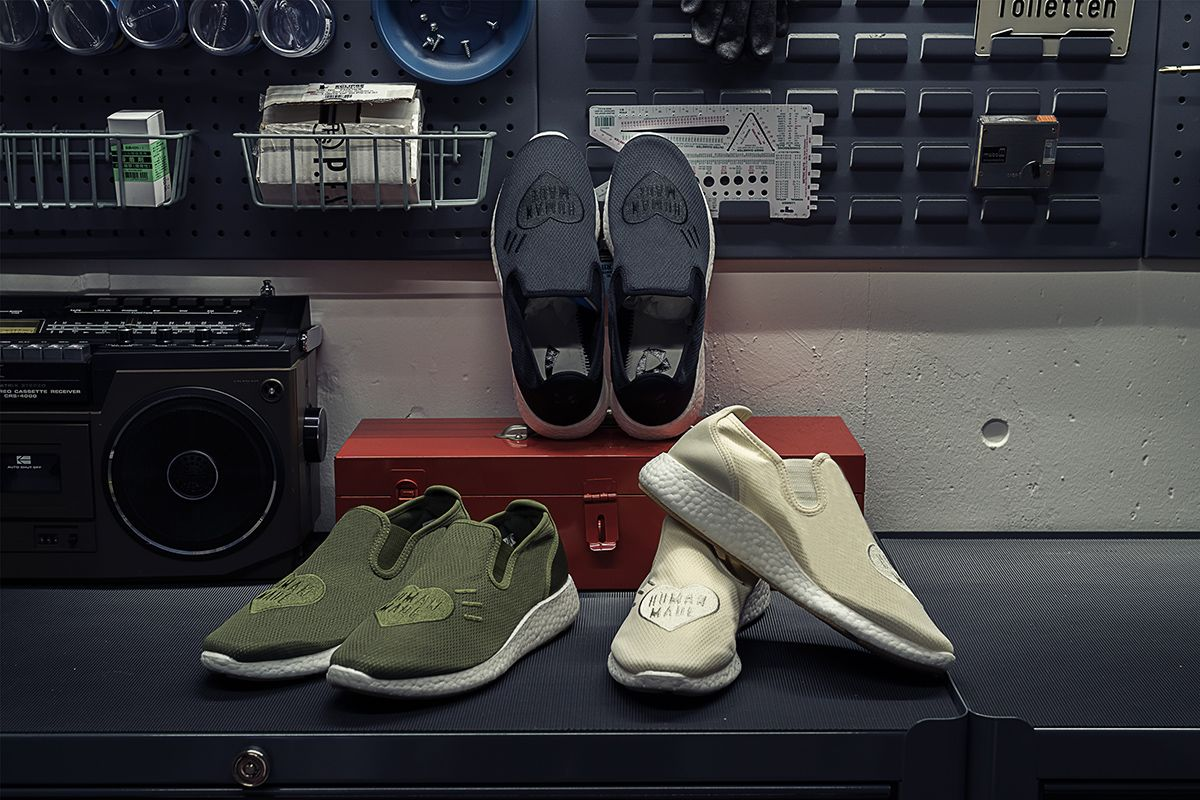 Human Made x adidas Goes Laceless & Other Sneaker News Worth a Read