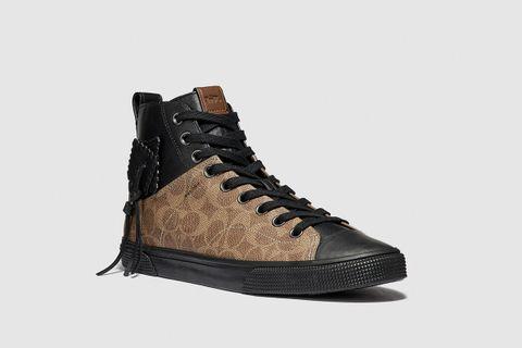 C220 Signature High Top Sneaker