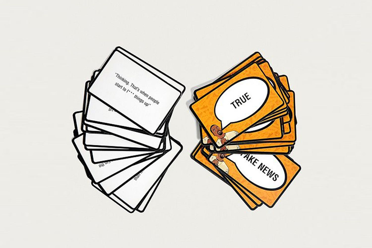 """Fake News: Kanye Edition"" Card Game"