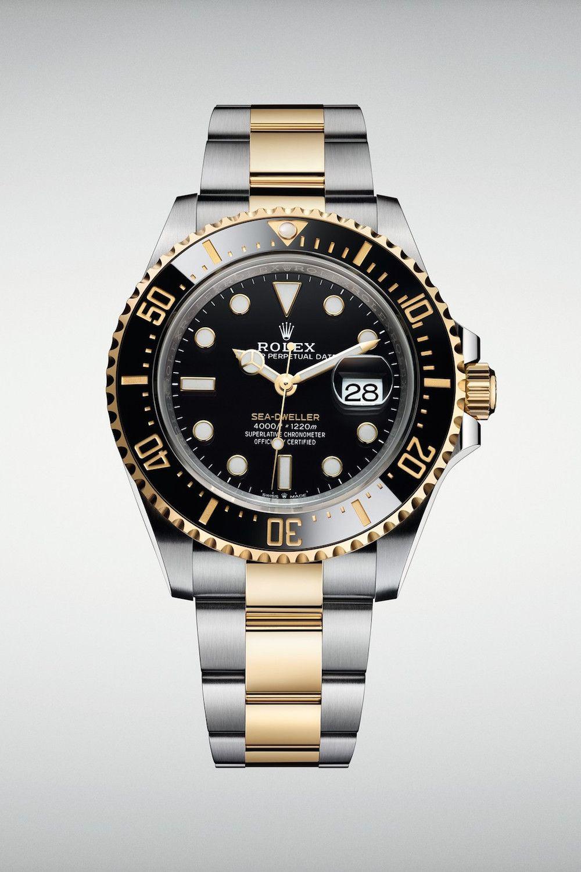 """Rolex's Sea-Dweller Returns in Luxe 18-Karat """"Yellow Rolesor"""""""