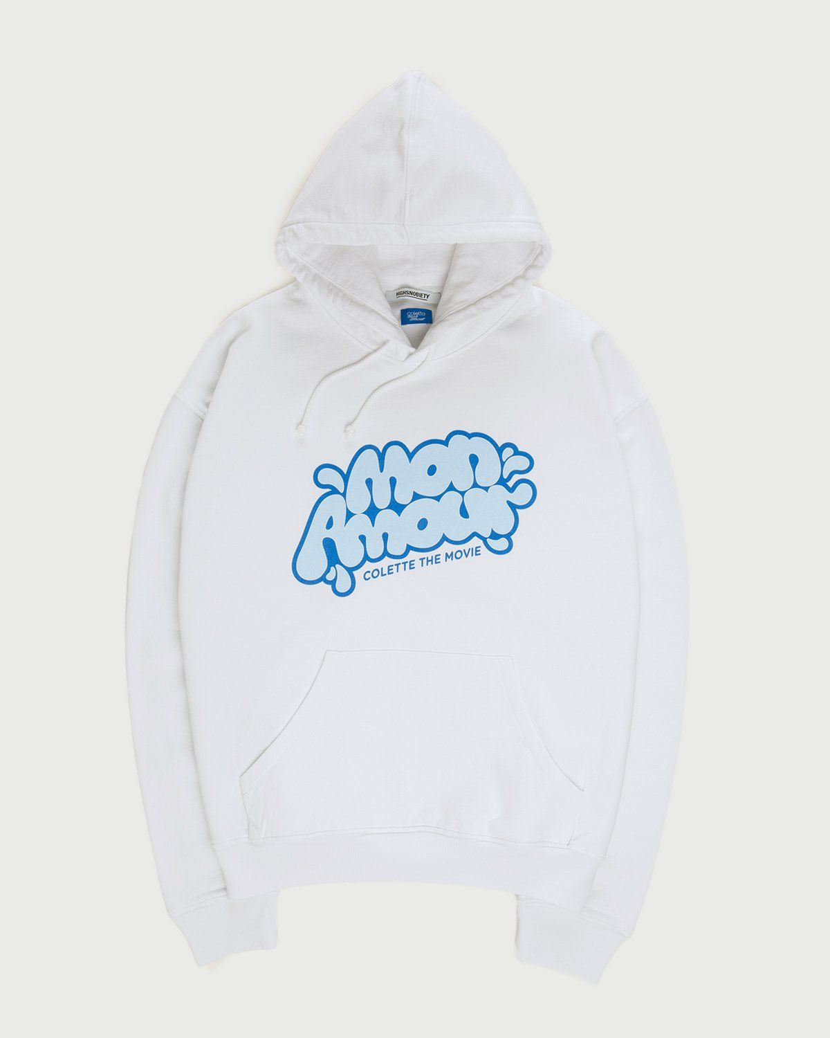 colette Mon Amour - Water Bar Hoodie White - Image 1