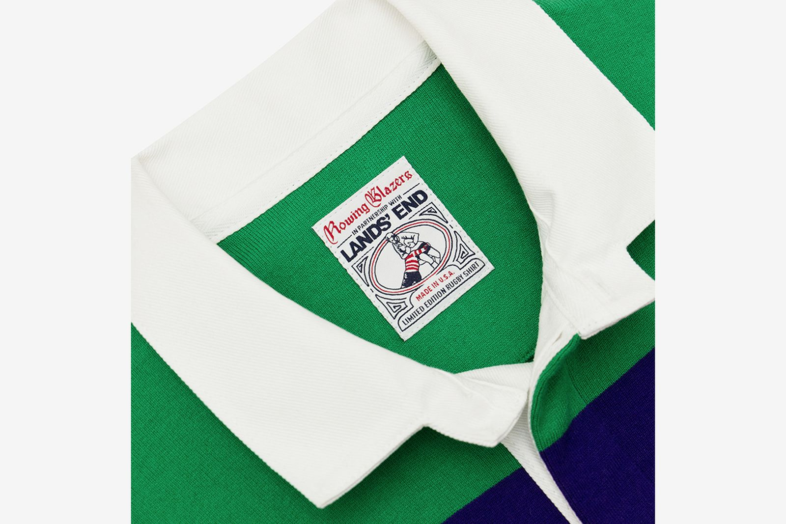 rowing blazers lands end white