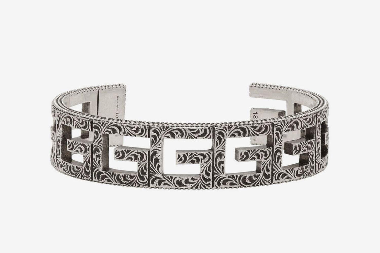 Square G Cuff Bracelet