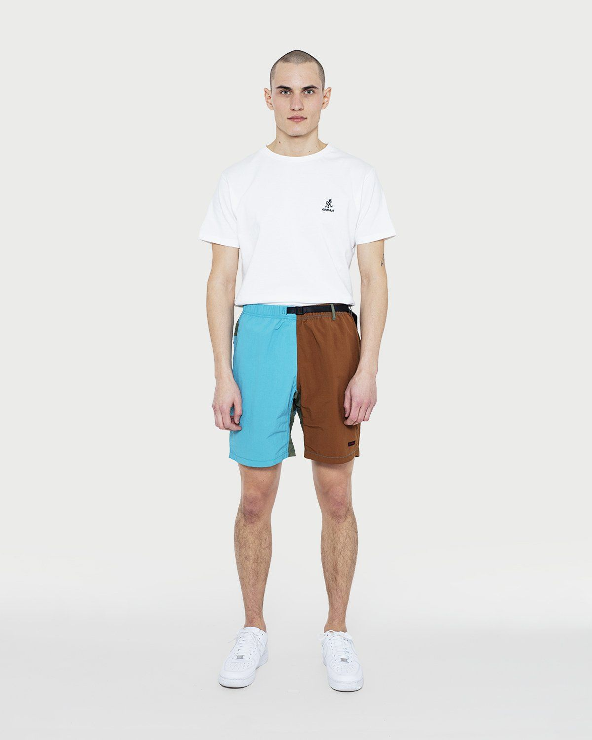Gramicci - Shell Packable Shorts Aqua/Mocha - Image 1
