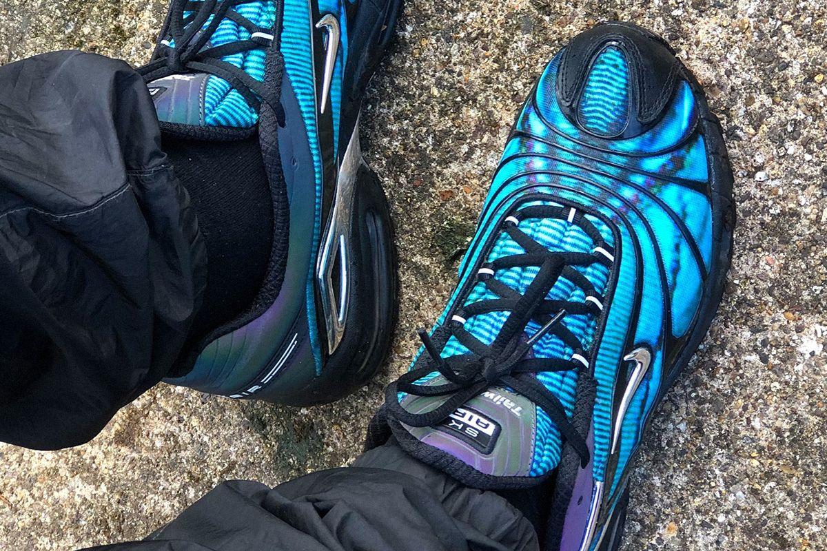 Skepta's 5th Nike Sneaker Surfaces in a Tasty Blue/Black Colorway 3